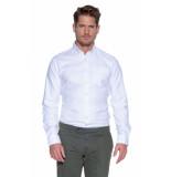 Donkervoort Overhemd met lange mouwen wit