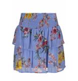 Vero Moda Vmwonda h/w smock short skirt exp 10217174 provence blauw