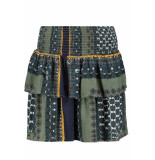 Vero Moda Vmmaise short smock skirt sb5 10221370 laurel wreath/maise groen