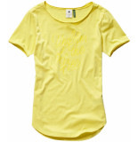 G-Star Graphic 18 mysid slim t-shirt geel