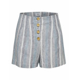Only Onlemmely hw button shorts tlr cloud dancer/w. cop blauw