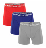 Muchachomalo Men 3-pack short solid/solid/solid