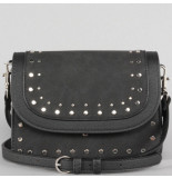 NA-KD Studded small shoulder bag zwart