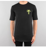 Off The Pitch Full stop tee ss zwart