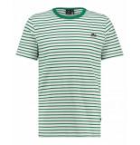 Kultivate T-shirt ts sneaker stripe ecru