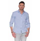 Calvin Klein Casual overhemd met lange mouwen blauw