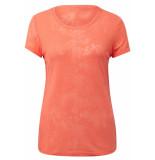 Tom Tailor T shirt met motief 1010912xx71 17603 roze