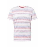 Tom Tailor Gestreept t shirt 1011517xx10 17974 wit