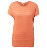 Tom Tailor T shirt met elastische zoom 1010916xx71 11650 oranje