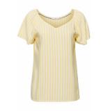 EDC Gestreepte blouse 059cc1f002 c745 geel