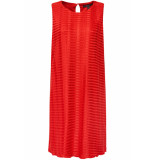 Esprit Collection Jersey jurk met plooien structuur 059eo1e001 e635 rood