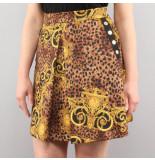 Versace Jean couture gonne udp812 bruin