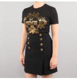 Versace Jeans couture t-shirt udp608 zwart