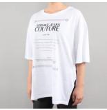 Versace Jeans couture t-shirt udp602 7print wit