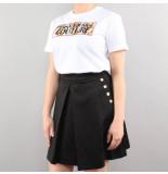 Versace Jeans couture t-shirt udp613 patch5 wit