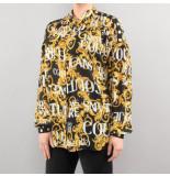 Versace Jeans couture blouse udp211 zwart