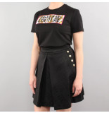 Versace Jeans couture t-shirt udp613 patch5 zwart