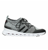 Wolky sneaker 3-D knitting grijs melange