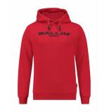 Ballin Amsterdam Sweatshirt 19027302 rood