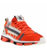 Calvin Klein Heren sneakers oranje rood