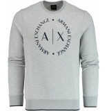 Armani Exchange Trui met logo 8nzm87.z9n1z/3929 grijs
