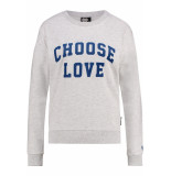 Catwalk Junkie Sw choose love chalk melange beige
