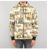 Versace Jeans couture reversible jacket wit