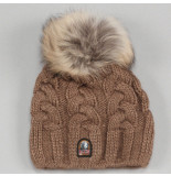 Parajumpers Kids cable hat bruin