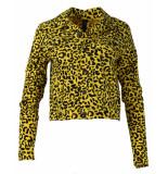 IZ NAIZ Blazer 3390 cowboy jacket geel