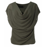 IZ NAIZ T-shirt 8130 top khaki
