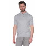 Calvin Klein Polo met korte mouwen grijs