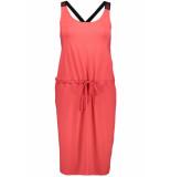 Zoso Hella dress printed 193 red/black rood