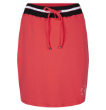 Zoso Skita skirt with striped 193 red/ black rood