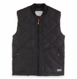 Scotch & Soda bodywarmer zwart