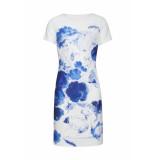 Smashed Lemon Dress 19168 white/cobalt wit