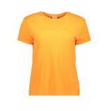 Jacqueline de Yong Jdyniki s/s top jrs exp 15197546 neon orange bordeaux