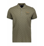 PME Legend Short sleeve polo ppss193853 6414 groen