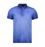 PME Legend Short sleeve polo ppss193851 5089 blauw