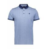 Vanguard Tiretrack short sleeve polo vpss193672 5068 blauw
