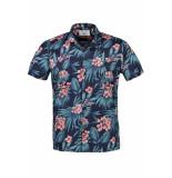 New in Town Overhemd korte mouw 8942937 4 blauw
