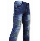 True Rise Jeans biker jeans