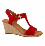 Gabor Sandalen rood