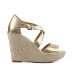 Michael Kors Abbott wedge goud