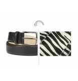 Rehab Riem zebra ll black zwart