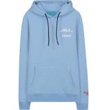 In Gold We Trust Basic hoodie licht blauw