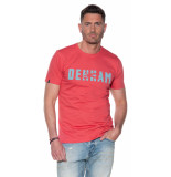 Denham T-shirt met korte mouwen roze