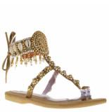 Hot Lava Dames sandalen goud