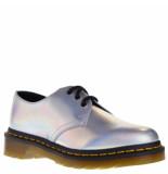 Dr. Martens Dames veterschoenen zilver grijs