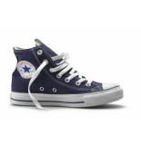Converse All stars hoog (mt t/m 46)- blauw