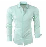 Pradz 2018 Heren overhemd mint groen